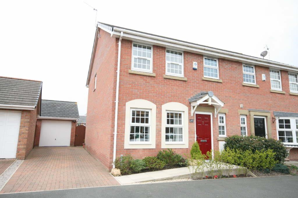 3 Bedrooms Semi Detached House for sale in Nelson Way, Lytham Quays, Lytham